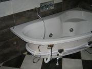 usazení vany